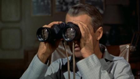 【山姆】摄影师每天用望远镜偷窥邻居家, 无意间发现了邻居夫妻的可怕, 希区柯克《后窗》