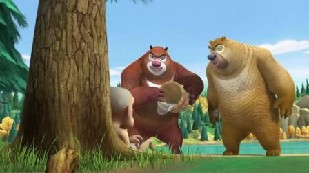 熊出没: 熊大熊二那么辛苦救光头强, 反被骂没有同情心, 搞笑
