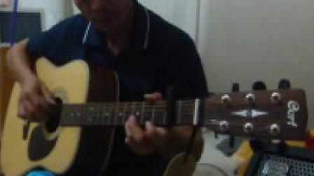 Canon《卡农》6和弦吉他练习曲 C大调