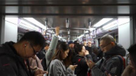 [2018.12]上海轨道交通4号线 大木桥路-鲁班路 运行与报站