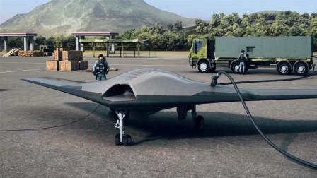 首次公开! 我国新型战机首飞, 隐身能力超歼-20, 外形非常吸睛
