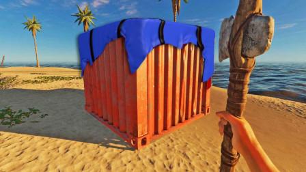 荒岛求生87: 终回棕榈岛, 我发现多了一个装有物资的空投箱
