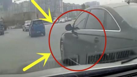 奥迪司机别在视频车主前方, 回看记录仪才得知有多可恨
