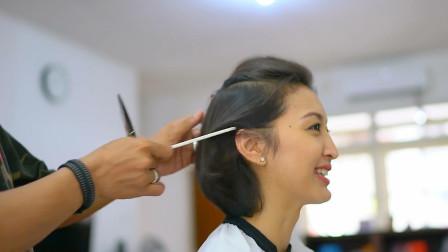 不烫不染很减龄的短发内扣发型、越来越多女生都喜欢这样剪