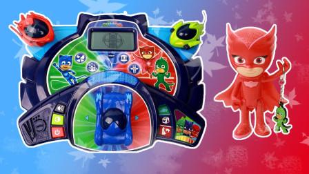 睡衣小英雄早教学习机玩具分享 拼图游戏图形认知
