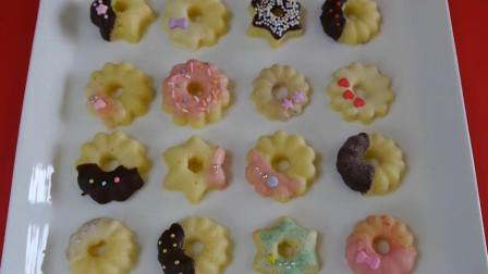 教你做美味的饼干甜甜圈, 小仙女的必备甜品, 看着好好次