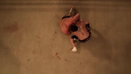 斯科特·阿金斯-拖着一条伤腿的斗士, 话不多就是干