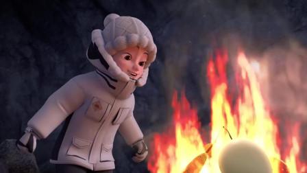 熊出没之探险日记: 大马猴的烤串被赵琳吃完了, 哈哈哈