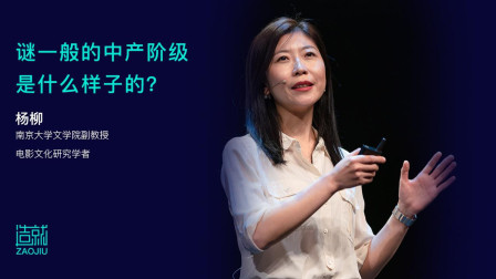 杨柳:电影描述的中产阶级距离我们有多远