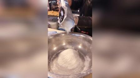 制作花生、杏仁薄饼