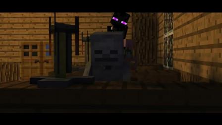 我的世界动画-菜鸟 vs 高手 vs 黑客-迷宫
