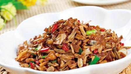 简单的家常菜炒杏鲍菇火腿肉, 这样的做法美味又健康, 赶紧学学