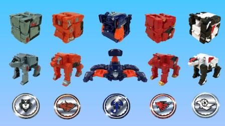 超好玩的核晶少年夺晶变形战兽玩具