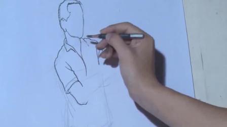 速写入门: 速写人物详细讲解, 基础学速写, 简单轻松画