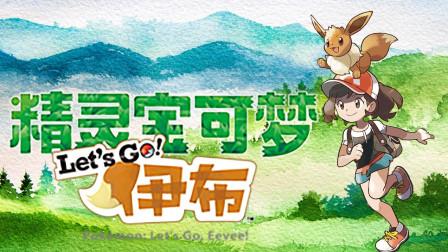 【四新】打败小刚! 获得岩石徽章~ 精灵宝可梦lets go #2