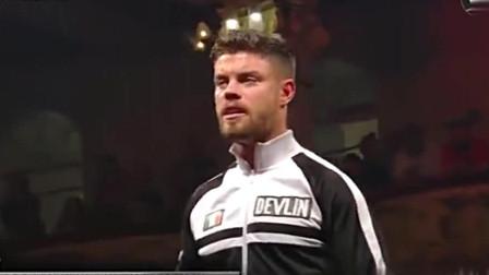 WWE NXT英国接管赛: 芬巴洛尔惊艳现身 全场粉丝爆发尖叫
