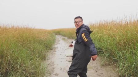 农人川子: 川子赶海抓皮皮虾到小半桶! 这身新衣服穿上就是不一样