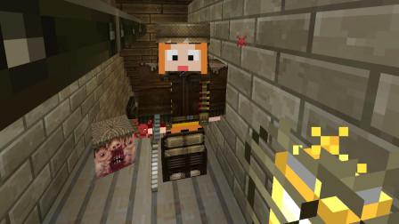 【小龙】我的世界MC病毒感染EP4 Minecraft恐怖游戏视频