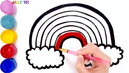少儿画画最佳视频, 小孩看了学东西, 大人看了解压力, 这视频太有魔力了