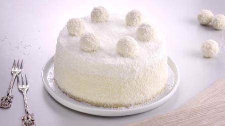 浓郁的椰香热带风: 雪莎椰子蛋糕
