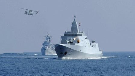 我国055大驱下水体现强大产能 彻底扭转海军落后局面
