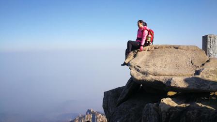 徒步山东: 三人行天烛峰登顶西马峰穿越19.1.13