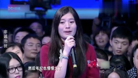 少林寺男嘉宾一出场, 台下女观众瞬间热泪盈眶, 孟非都呆了