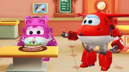 小浩宇亲子游戏 第一季 超级飞侠之乐迪蛋糕店 给小爱做最喜欢吃的彩虹蛋糕