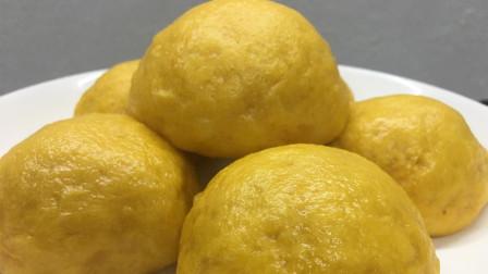 南瓜馒头最简单的家常做法, 清甜可口, 蓬松柔软, 不塌陷不回缩