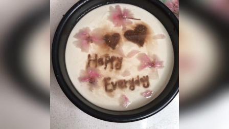 樱花酸奶慕斯蛋糕3