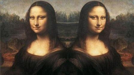 """神奇! 蒙娜丽莎画像放大40倍之后, 发现""""第二面孔""""?"""