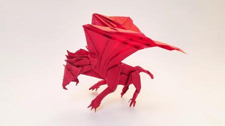 陈柏熹狮鹫折纸视频教程第1课折纸王子