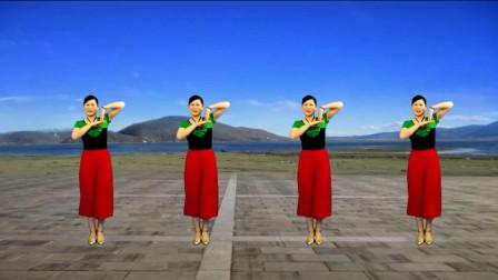 美女广场舞《小妹甜甜甜》抒情柔美, 歌醉人, 舞好看!