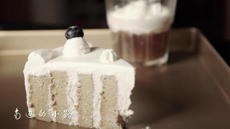 咖啡树桩蛋糕, 一圈一圈的年轮卷出美味