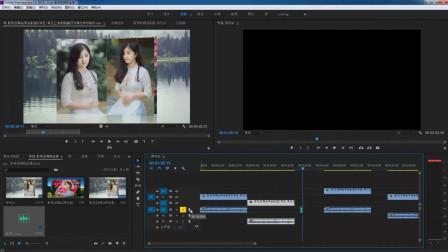 影视后期pr软件基础教程07 时间线窗口 素材控制小技巧