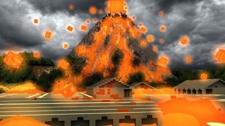 小橙子姐姐我的世界逃离灾难火山喷发: 超惊艳关卡跑酷!