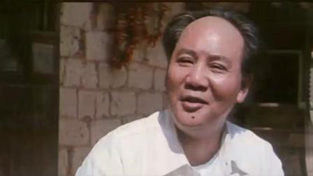 毛主席回家乡湖南韶山请客吃饭, 给老乡敬酒走到下一桌盘子都空了