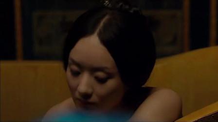 宫锁沉香: 赵丽颖深夜沐浴, 没想到朱梓骁偷偷进来