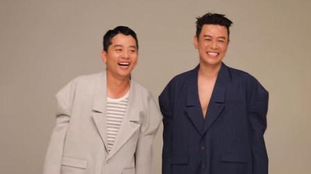 关系不好的韩国两笑星们拍时尚杂志的时候会发生的事情