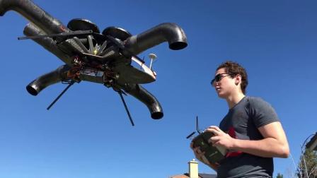 高中生搞发明, 号称世界上最安全的无桨叶无人机, 正在申请专利