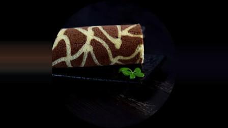 长颈鹿蛋糕卷! 孩子们的最爱!