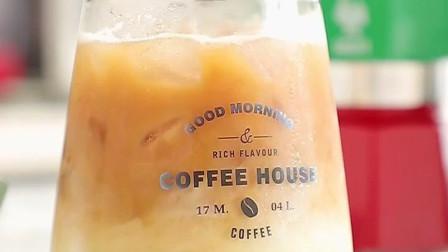 美味饮料抹茶咖啡拿铁的做法推荐给大家, 简单又好喝, 赶快学习一下吧!