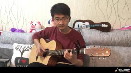 音乐人张紫宇评测介绍Natasha KC-1娜塔莎单板吉他 靠谱吉他乐器