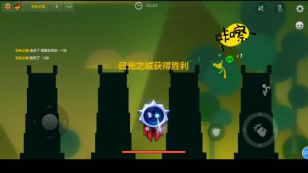 激斗火柴人: 会发射毛毛虫的武器超级恶心, 还不分敌我。这游戏真好玩!