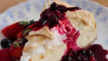 杰米教你国庆奶酪蛋糕 在假期里和家人一起玩烘焙吧