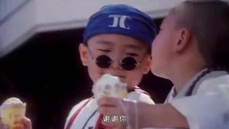 俩人用英语交流吃冰淇淋, 这俩童星连演吃冰激凌都这么出色