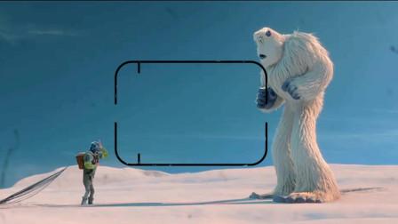 阿疯看电影: 一只年轻活泼的雪人发现了本认为不存在的人类, 雪怪们将如何面对