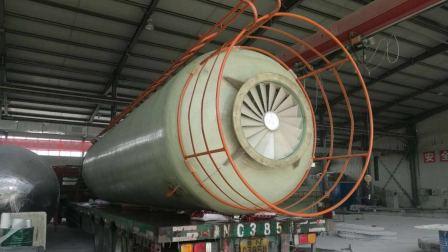 玻璃钢脱硫塔定制 烟气脱硫工程 大型脱硫塔价格 河北玻璃钢脱硫塔 工业锅炉除尘