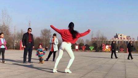 全网最火的鬼步舞《舞王加烈火》背面练习中