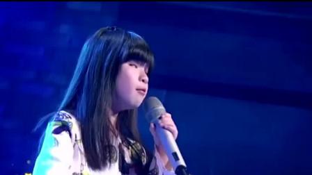 6岁盲女深情演唱《你是我的眼》, 开口就感动全场, 观众泪流满面
